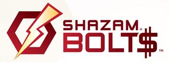 Shazam Bolts Logo